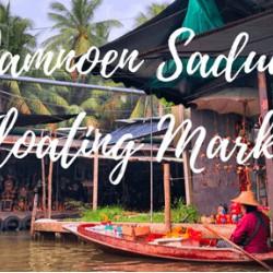 Thưởng thức những món ăn đặc sắc ở chợ nổi Damnoen Saduak