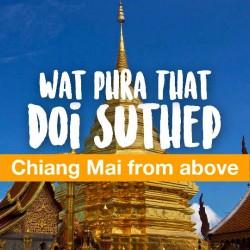 Ghé Thăm Chùa Wat Phrathat Doi Suthep Linh Thiêng Nhất Chiang Mai