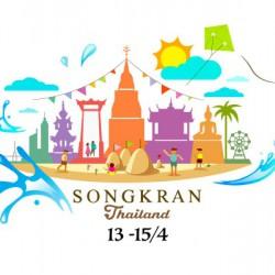 Lễ Hội Té Nước Songkran - Tết Cổ Truyền Của Người Thái Lan
