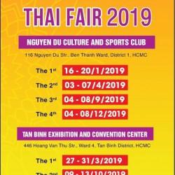 Lịch Hội Chợ Thái Lan 2019