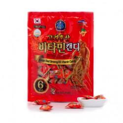 Kẹo Hồng Sâm 365 Vitamin 200g Hàn Quốc giúp giảm căng thẳng, mệt mỏi