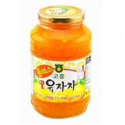 Chanh Mật Ong BIO Hàn Quốc Hũ 1kg giúp dưỡng dáng đẹp da mà người các chị em đang cần