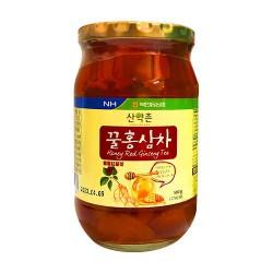 Sâm Lát Tươi Mật Ong NONGHYUP Hàn Quốc hũ 580gr sản phẩm giúp người dùng có thể trị chứng mất ngủ ở người già
