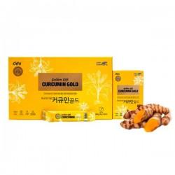 Nghệ NaNo Curcumin Gold hộp 60 gói - Giúp dạ dày tốt hơn