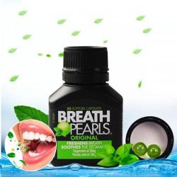 Viên Thơm Miệng Breath Pearls hũ 50 viên - Khử mồ hôi miệng nhanh chóng