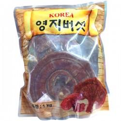 Nấm Linh Chi Đỏ Nâu Hàn Quốc túi 1kg điều hòa hoạt động của hệ hô hấp và tim mạch