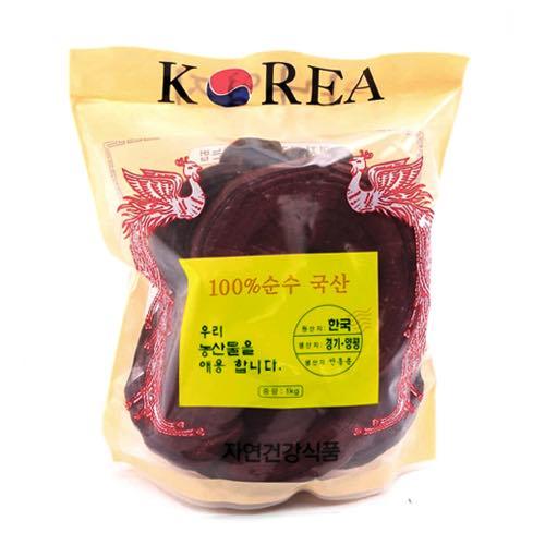 Nấm Linh Chi Đỏ Hàn Quốc túi 1kg phục hồi cơ thể cho người lớn tuổi
