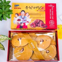 Nấm Linh Chi 3 Cô Gái New Royal Hàn Quốc hộp 1kg hỗ trợ giải độc tố trong cơ thể