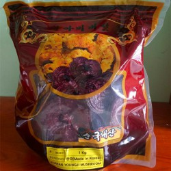 Nấm Linh Chi Đỏ YOUNGJI Hàn Quốc Nhập Khẩu [Gói 1kg]  - Món đồ thích hợp bồi bổ cơ thể cho người lớn tuổi