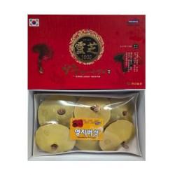Nấm Linh Chi Vàng Hộp Đỏ 1Kg Hàn Quốc Nhập Khẩu - Sản phẩm dinh dưỡng cao cấp đến từ Hàn Quốc