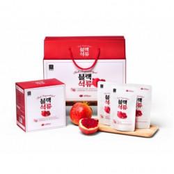 Nước Ép Lựu Hắc Sâm 30 gói x 70ml Hàn Quốc Nhập Khẩu- Sự kết hợp tuyệt vời trong một sản phẩm mang đến cho người dùng sức khỏe tuyệt vời