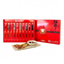 Sâm Củ Tẩm Mật Ong DONGJIN 220g Hàn Quốc Nhập Khẩu - Tăng cường sức khỏe, kéo dài tuổi thanh xuân