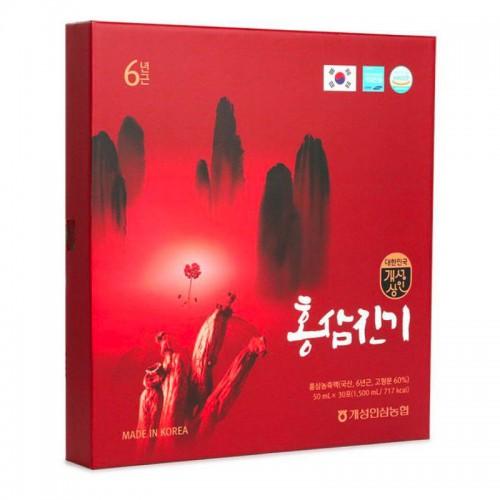 Nước Sâm Chinki Hàn Quốc Nhập Khẩu [50ml x 30 gói] - Hỗ trợ tăng cường trí lực