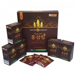Nước Vua Hồng Sâm Hàn Quốc Nhập Khẩu [50ml x30] mang đến một cơ thể khỏe mạnh, tinh thần phấn chấn