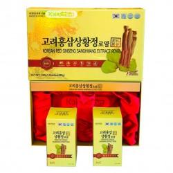 Hộp Cao Sâm Đông Trùng SANGHWANG Hàn Quốc [240g x2] sản phẩm hỗ trợ và đẩy lùi ung thư vô cùng hiệu quả