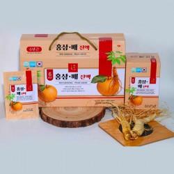 Nước sâm Lê Hàn Quốc dạng túi 30 gói x 50ml thức uống dinh dưỡng