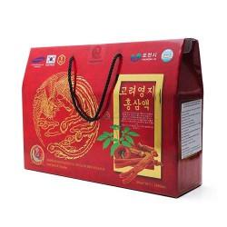 Lốc Nước Sâm Linh Chi Jeong Won Hàn Quốc 30 gói x 80ml thanh lọc, giải độc cơ thể