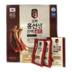 Nước Hồng Sâm 6 Tuổi Daehan Hàn Quốc hộp 24 gói - Giúp cơ thể luôn dồi dào năng lượng