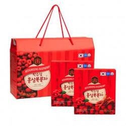 Hồng Sâm Tinh Chất Mâm Xôi Hàn Quốc 20 gói x 70ml - Thức uống bổ dưỡng trái cây