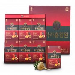 Nước Sâm Macca Hàn Quốc [Hộp 30 gói] - Sản phẩm giúp người già có thể nâng cao sức đề kháng