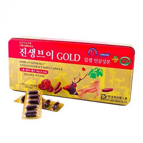 Viên Đạm Tổng Hợp Dongwon Hàn Quốc [Hộp 120 viên] -  Sản phẩm đào thải độc tố cho gan hiệu quả cao