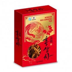 Trà Hồng Sâm Linh Chi Hanil Hàn Quốc [Hộp Giấy 100 Gói]- Sản phẩm giúp điều trị gan