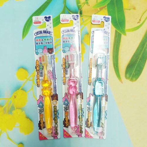 Bàn chải đánh răng ion (không cần dùng kem đánh răng) cho trẻ từ 1,5 tuổi (màu hồng)