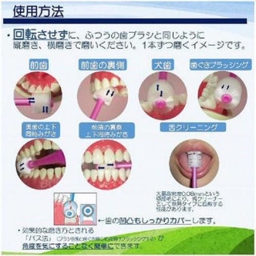 Bàn chải đánh răng 360 độ Higuchi cho trẻ dưới 3 tuổi (mã mới)