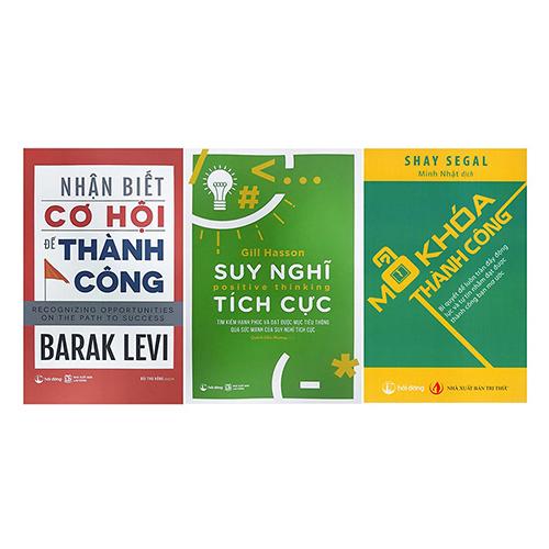 Sách - Combo Nhận Biết Cơ Hội Để Thành Công + Mở khóa thành công + Suy nghĩ tích cực