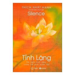 Sách - Tĩnh Lặng (Tặng Postcard bốn mùa ngẫu nhiên) - Thích Nhất Hạnh
