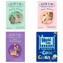Sách - Combo Nuôi con không phải cuộc chiến - Gồm 4 cuốn liên quan đến các giai đoạn phát triển của bé