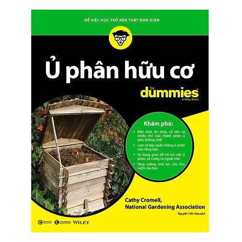 Sách - Ủ phân hữu cơ for Dummies - Thái Hà Books - Hãy trở thành một người yêu môi trường thông thái