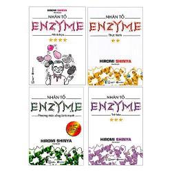 Bộ Sách - Bộ Nhân Tố Enzyme + Tặng Tedbook - Nghe Theo Cái Bụng + Tặng Postcard bốn mùa