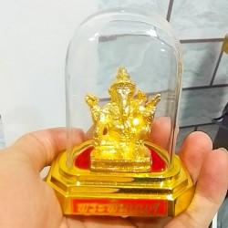 Tượng Voi Thần Ganesha พระพิฆเกเศ Thái Lan [Có Lồng Kính]