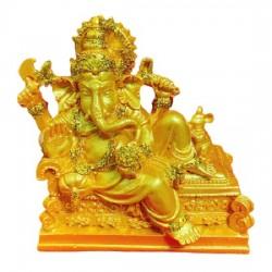 Tượng Voi Thần Ganesha Vàng Thái Lan Size Nhỏ