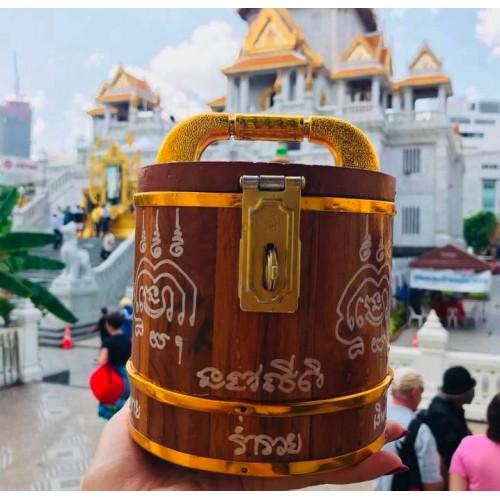Thùng Gỗ Đựng Tiền Hỗ Trợ Kinh Doanh Thái Lan