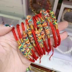 Vòng Tay Đỏ May Mắn Lộc Tài Thái Lan