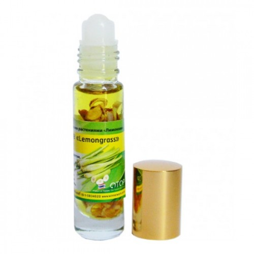 Dầu Lăn Sả Banna Oil Balm With Herb Lemongrass 10ml Thái Lan