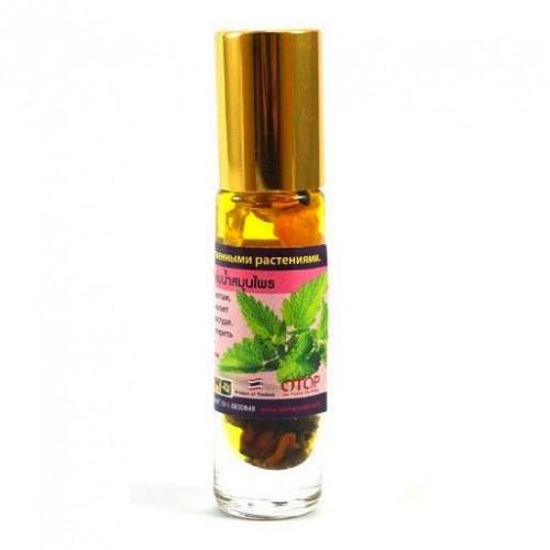 Dầu Lăn Bạc Hà 11 Vị Thảo Dược Banna Oil Balm With Herb 10ml Thái Lan