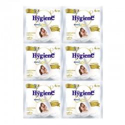 Dây 12 Bịch Nước Xả Vải Hygiene Màu Trắng Hương Sữa Bò CTC135 Thái Lan