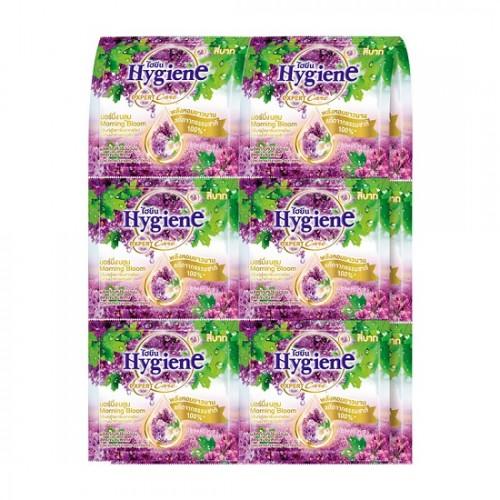 Dây 12 Bịch Nước Xả Vải Đậm Đặc Hygiene Morning Bloom Hương Lavender 20ml Thái Lan
