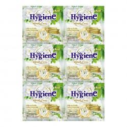 Dây 12 Gói Nước Xả Vải Đậm Đặc Hygiene Expert Care Hương Hoa Mộc Lan 20ml Thái Lan