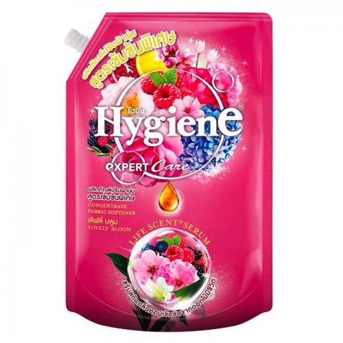 Nước Xả Vải Đậm Đặc Hygiene Expert Care Lovely Bloom 1300ml Thái Lan [Hồng]