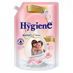 Nước Xả Vải Hygiene Hokkaido Milk Serum 1300ml Thái Lan [Hồng Phấn]