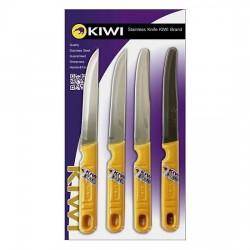 Bộ Dao 4 Món Kiwi Vnset-C (511,512) Cao Cấp Thái Lan Nhập Khẩu