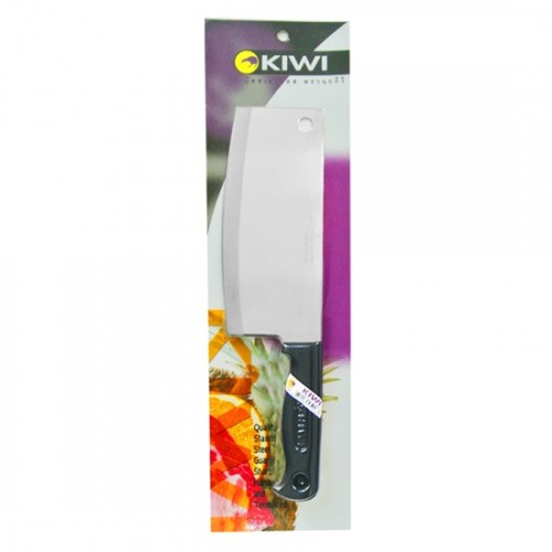 Dao Chặt Thịt Chặt Xương Cán Nhựa Kiwi 813P Cao Cấp Thái Lan