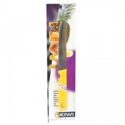 Dao Thái Gọt Trái Cây Cán Nhựa Vàng Mũi Tròn Kiwi 512 Thái Lan