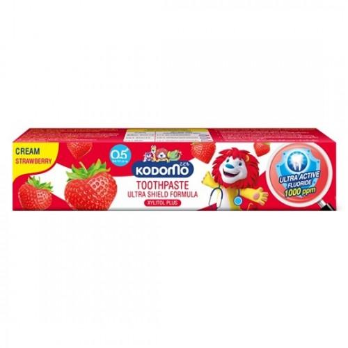 Kem Đánh Răng Trẻ Em Kodomo Toothpaste Hương Dâu 40g Thái Lan