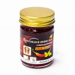 Dầu Cù Là Ớt Red Colour Herbs Balm 50g Thái Lan
