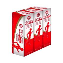 Combo 3 Chai Dầu Xoa Bóp Ông Già Siang Pure Relief Cream 30g Thái Lan